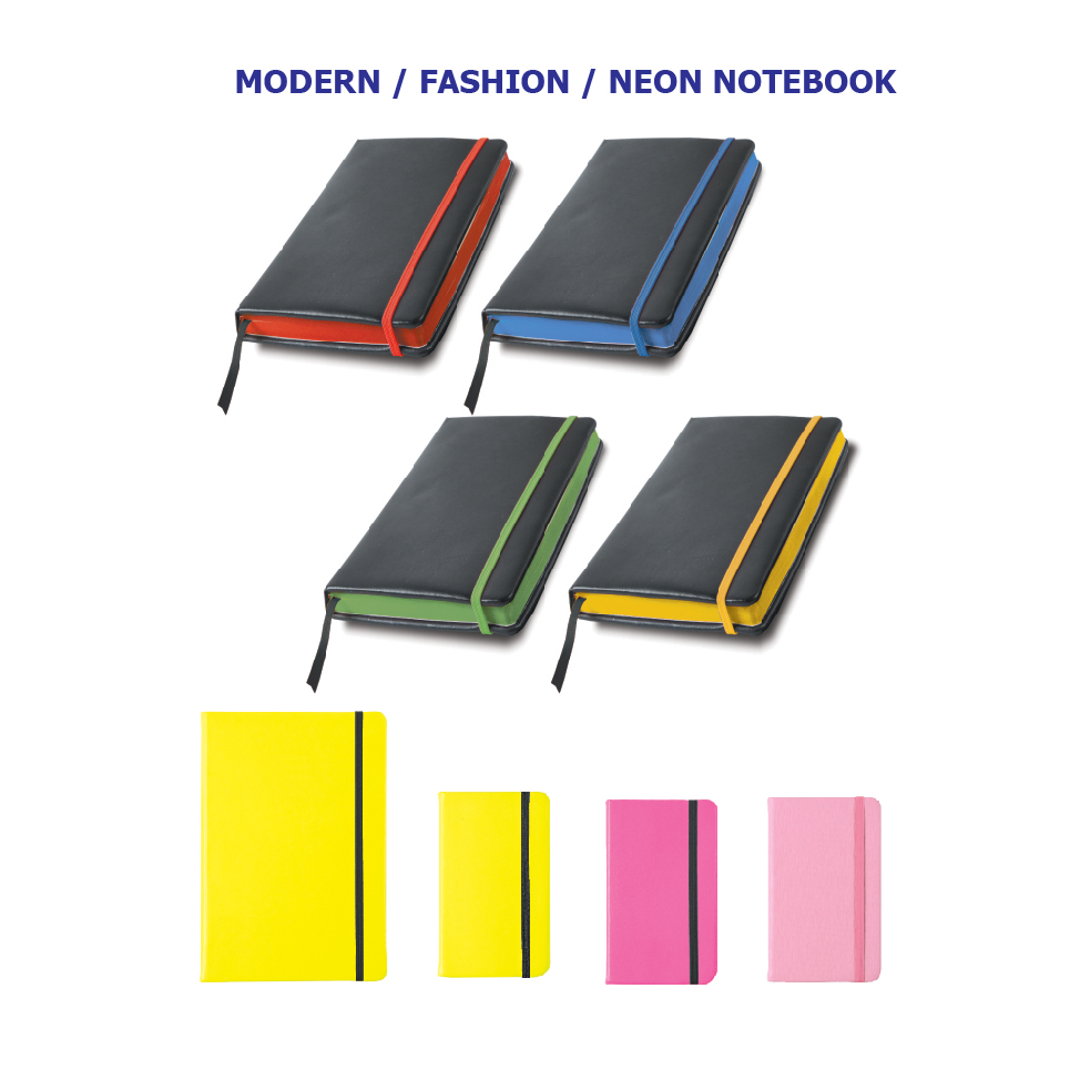 Modern/Fashion/Neon Notebook