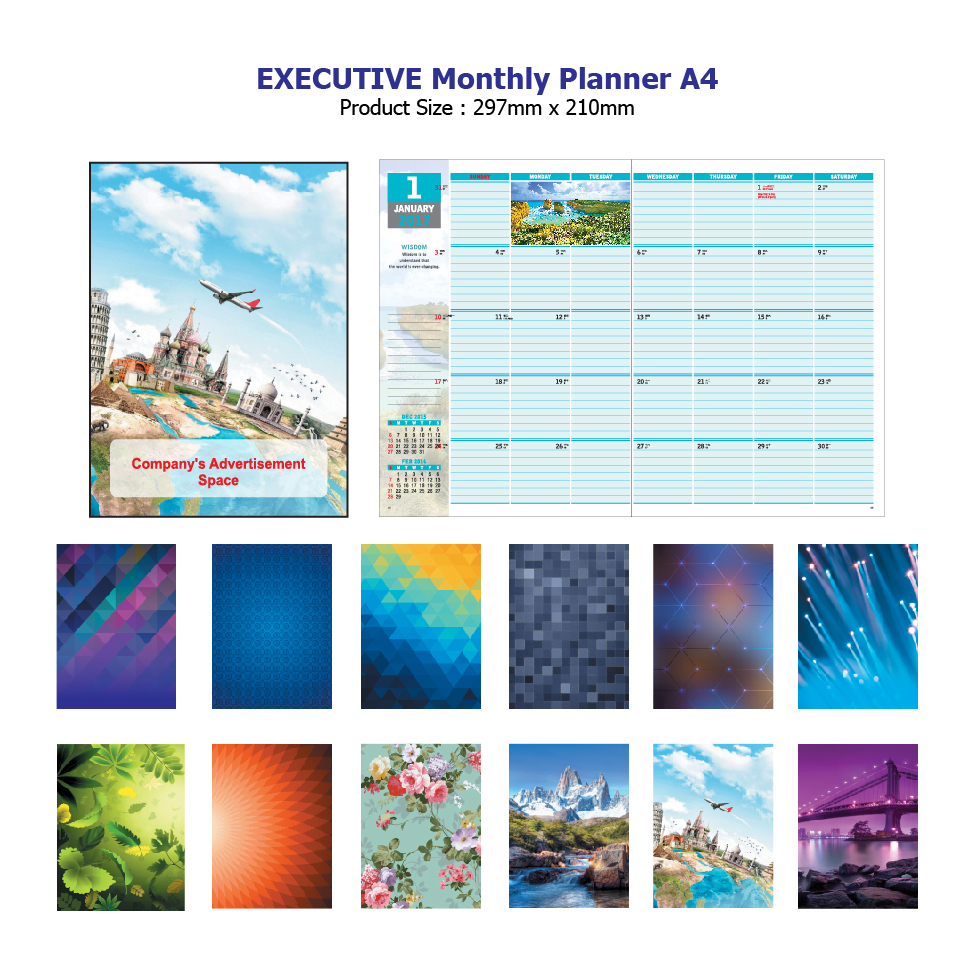 Executive Monthly Planner